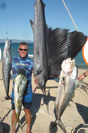 Spearfishing Champion Mike McGuire